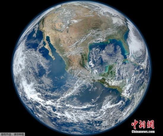 """图为地球""""证件照""""。"""