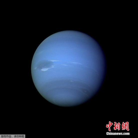 """图为海王星""""证件照""""。"""