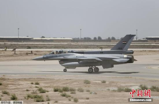 资料图:美国F16战机。