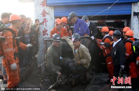 资料图:黑龙江鹤岗一煤矿 。图片来源:CFP视觉中国