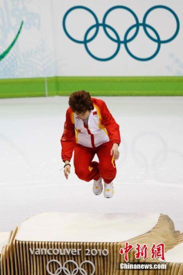 王濛赢得过4块冬奥会金牌,创下中国冬奥历史之最。(资料图)<a target='_blank' href='http://curtain-corner.com/'>中新社</a>发 盛佳鹏 摄