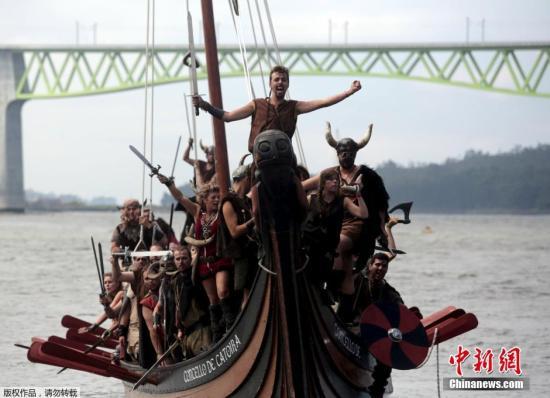 资料图:维京海盗船。