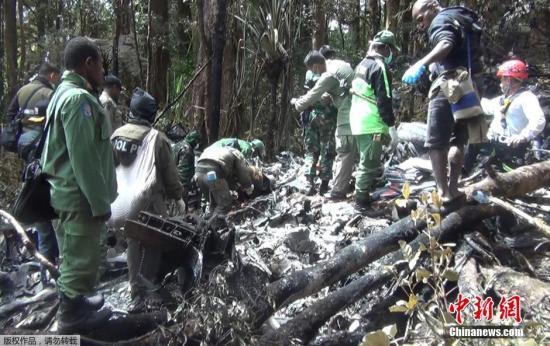 印尼失事客机人员全遇难 机上巨额现金下落不明