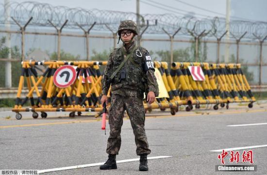 """美呼吁朝鲜停止""""挑衅"""" 美韩军演中断2日后恢复"""