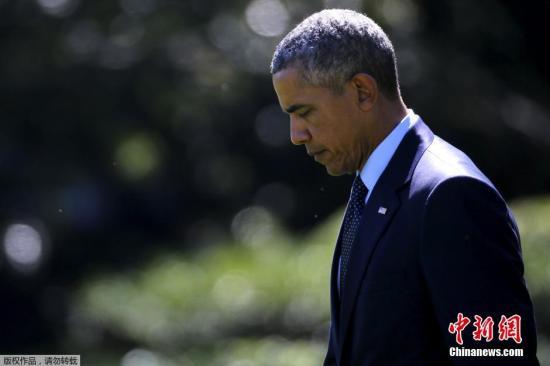 材料图像:美国总统奥巴马。