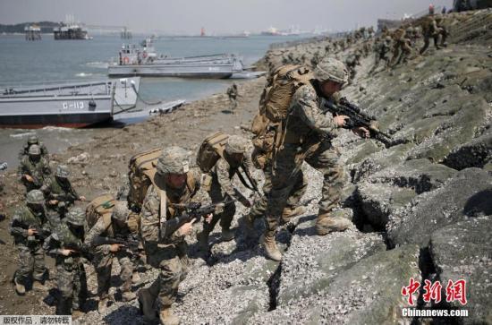 韩美达成一致:驻韩美军韩籍员工将结束无薪休假图片