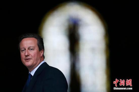 英国首相卡梅伦出席活动。
