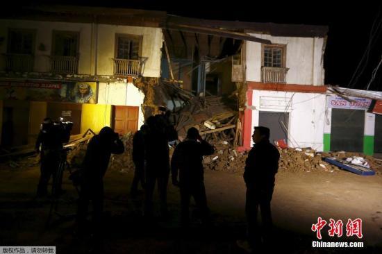当地时间9月17日,智利西部近海发生8.3级地震,数百万人紧急疏散。