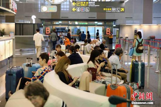 图为台湾民众。中新社记者 任海霞 摄