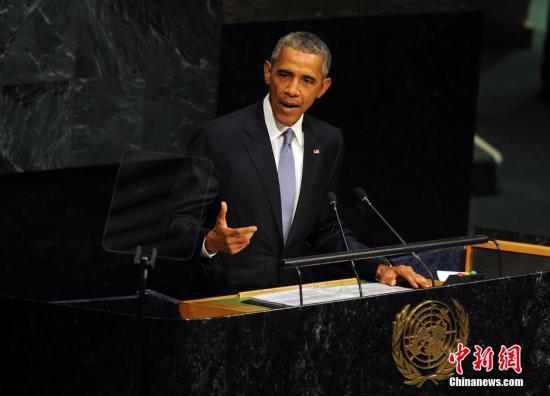 资料图:美国总统奥巴马。 中新社记者 毛建军 摄