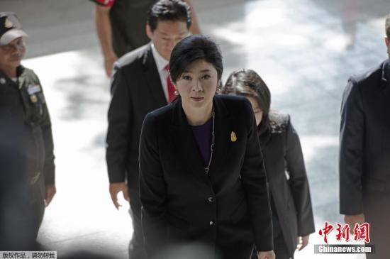 泰国前总理英拉。