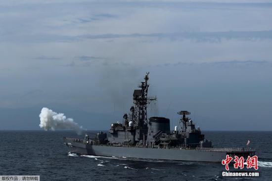 """日本水上自卫队""""村雨""""号护卫舰被诊断感柒新冠病毒"""