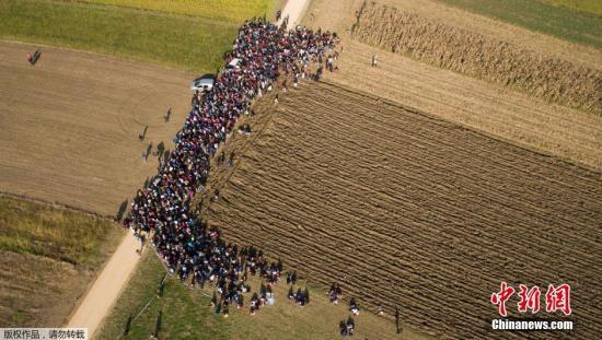 欧盟拟建新边防机构应对难民危机 遭部分成员反对