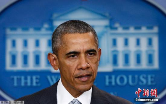 奥巴马即将宣布控枪举措 称此做法完全合乎宪法