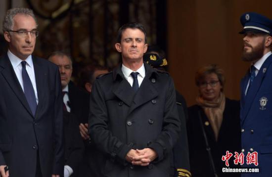 资料图:法国总理前瓦尔斯。 龙剑武 摄