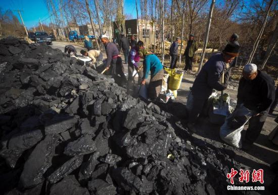 资料图:煤炭。刘新 摄