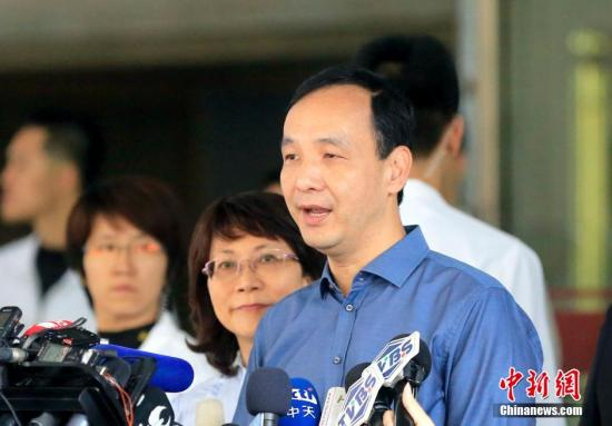 资料图:朱立伦。 <a target='_blank' href='http://www.chinanews.com/'>中新社</a>记者 陈小愿 摄