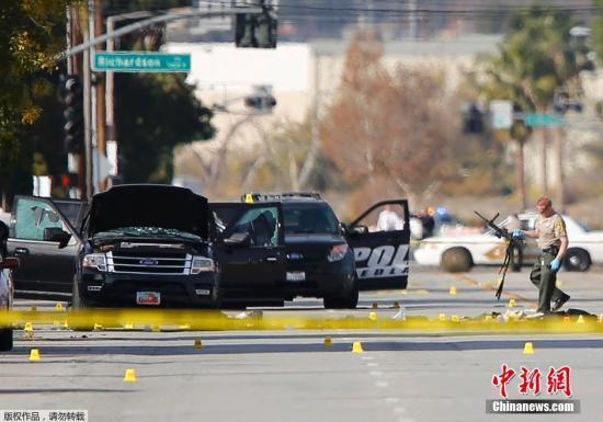 男子为加州枪击案枪手提供武器 被控三项罪名