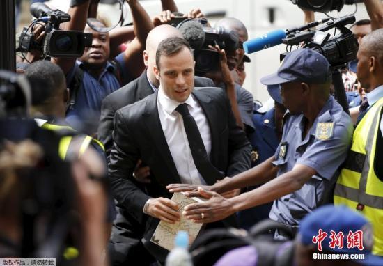"""南非""""刀锋战士""""不服谋杀罪名判决 寻求上诉"""