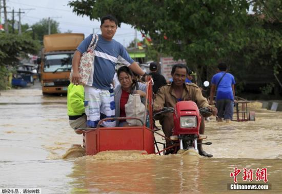"""台风""""茉莉""""致菲律宾17人遇难 全国进入灾难状态"""