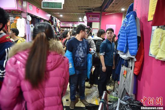 资料图:北京动批服装城。<a target='_blank' href='http://www.chinanews.com/' >中新网</a>记者 金硕 摄