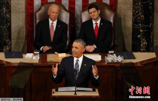 特朗普:奥巴马国情咨文演说沉闷无聊 看不下去