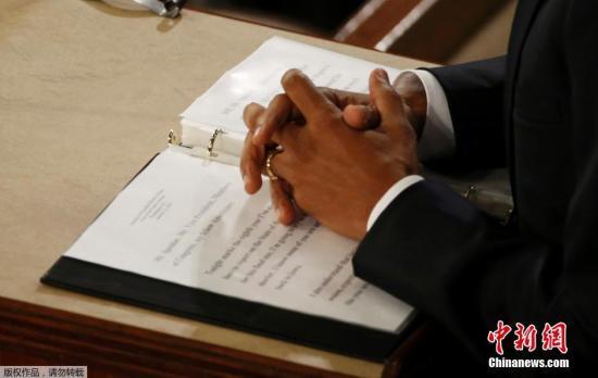 美媒:奥巴马国情咨文对美经济和国家安全看法乐观