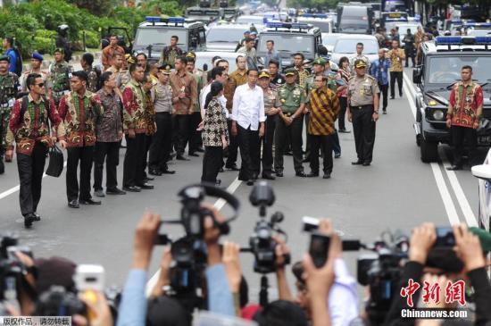 印尼雅加达连环爆炸至少7人死亡 IS宣布策动恐袭