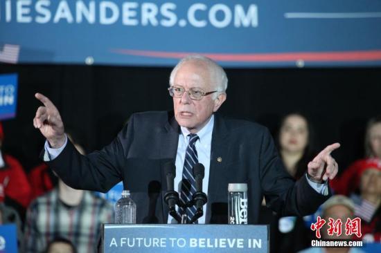 <b>为大选造势 美民主党参选人桑德斯揭万亿美元住房计划</b>