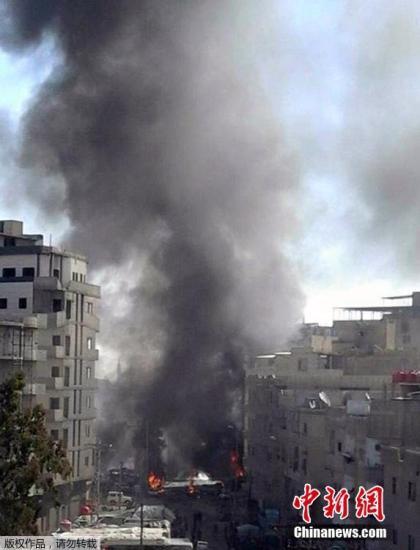 大马士革连环袭击遇难人数升至76人 110人受伤