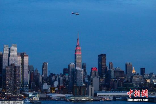 资料图:美国纽约。
