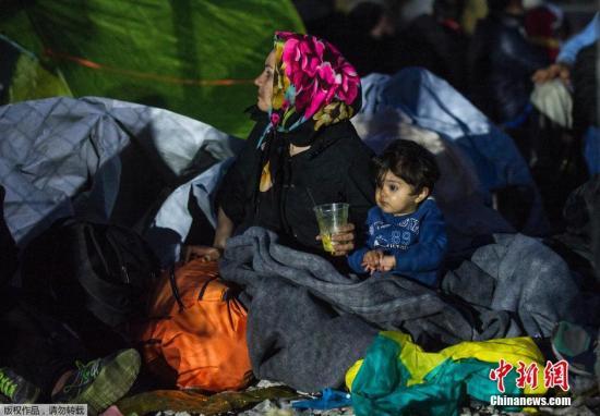 欧盟四国每日只允580名难民入境 危机恐将恶化