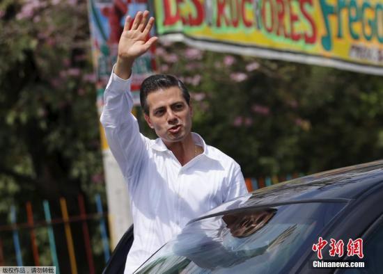 资料图:墨西哥总统涅托。
