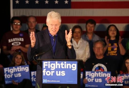 美国前总统克林顿病情好转 预计17日出院