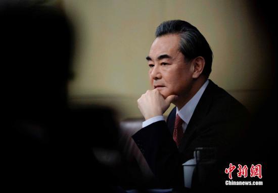 资料图:王毅。 中新社记者 王东明 摄