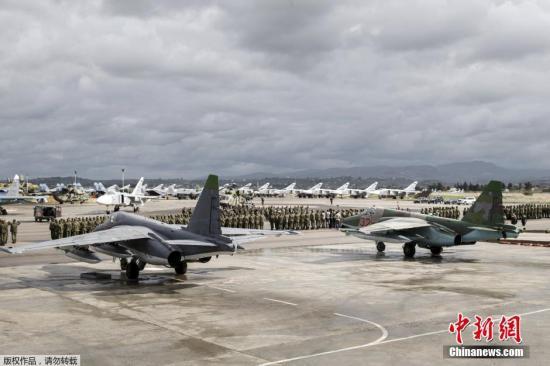 资料图:赫梅米姆空军基地。