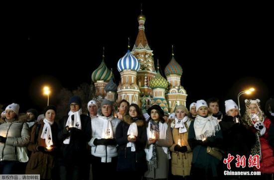 材料图:俄罗斯人。