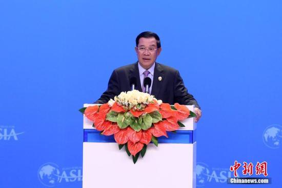 外媒称首相染病 洪森现身国会谣言自破(原创)