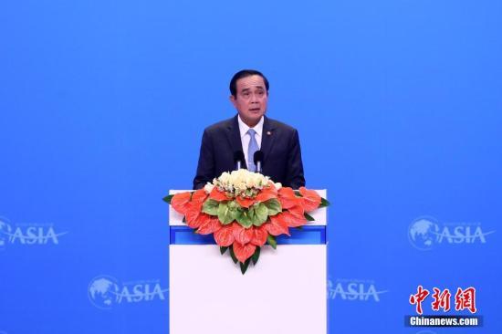 资料图片:泰国总理巴育。<a target='_blank' href='http://www.chinanews.com/'>中新社</a>记者 韩海丹 摄