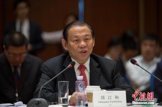 陈江和:紧跟改革开放步伐,继续扩大在