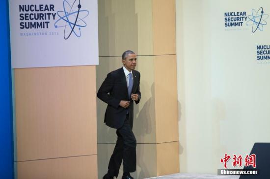 資料圖:美國總統奧巴馬。 中新社記者 廖攀 攝