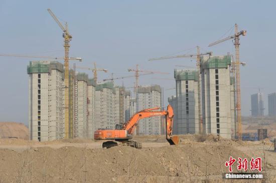 材料图:山西太本正正在建立的一处房天产项目。a target='_blank' href='http://www.chinanews.com/'中新社/a记者 韦明 摄