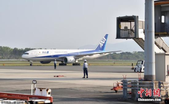资料图:日本全日空航班。