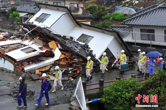 日本熊本地震遇难人数升至102人 新认定4人系相关死亡