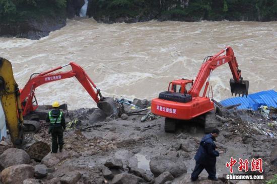 福建泰宁县泥石流灾害:34人遇难