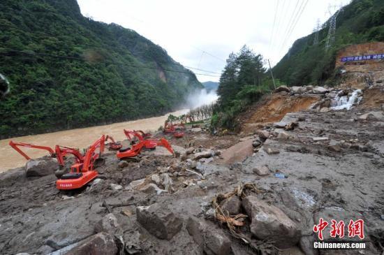 泥石流的地質災害與防治 泥石流救災事跡