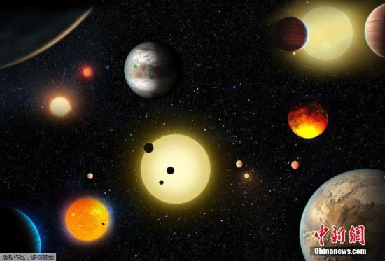 当地时间5月10日,美国航空航天局(NASA)宣布,开普勒太空望远镜证实又发现1284颗系外行星,使开普勒所发现系外行星增加一倍,提高在宇宙发现另一个地球的希望。