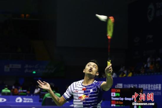 资料图:中国队选手林丹。<a target='_blank' href='http://www.chinanews.com/'>中新社</a>记者 韩海丹 摄