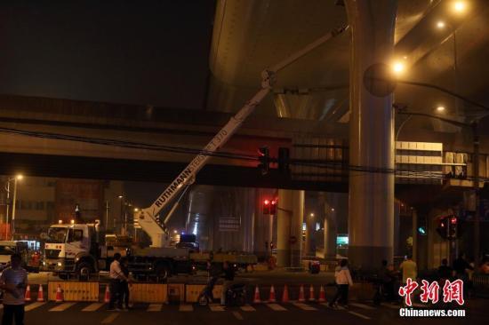 上海5.23中环线高架道路损坏案4被告人被提起公诉