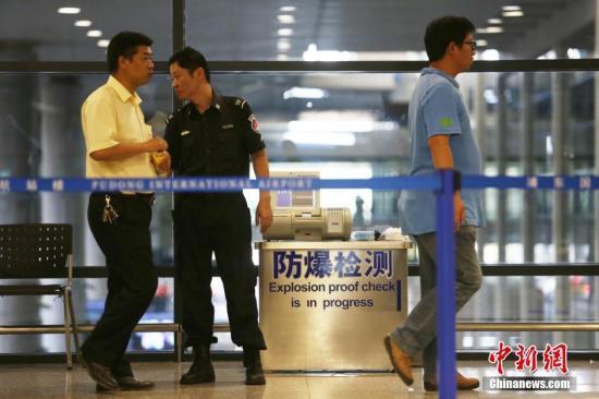 资料图:上海浦东机场。 中新社记者 张亨伟 摄